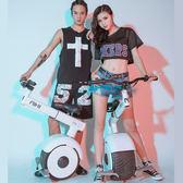 新品帶座椅獨輪電動平衡車 手扶桿單輪摩托全智慧思維體感車 igo摩可美家