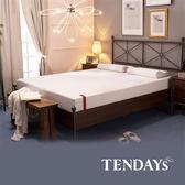 床墊-TENDAYs 5尺 雙人床20cm厚-柔織舒壓記憶床墊