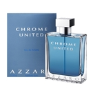 【Azzaro】Chrome united 酷藍唯我 男性淡香水 100ml