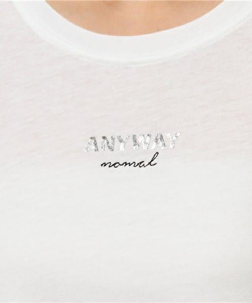 ❖ Hot item ❖ 寬版字母logo素色長版洋裝 - E hyphen world gallery