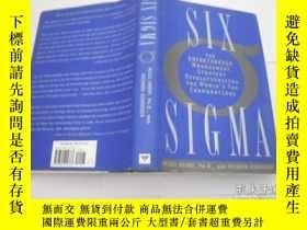 二手書博民逛書店SIX罕見SIGMAY9740 Mikel Harry Ph.D. etc. CURRENCY 出版2000