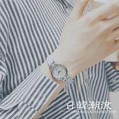 手錶 原宿手表女韓國大氣復古簡約時尚可愛軟妹初中女學生女款