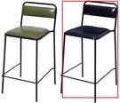吧檯桌椅 CV-772-4 BY2吧台椅(黑色)【大眾家居舘】
