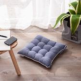 質感北歐藍椅墊40x40-生活工場