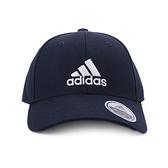 ADIDAS BBALL CAP COT 棒球帽 深藍 FQ5270 鞋全家福