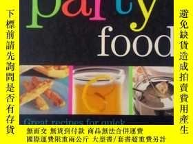 二手書博民逛書店Party罕見Food【英文原版(UK)】《聚會菜品》Y394173 Jan Stephenson PARRA