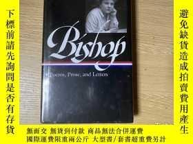 二手書博民逛書店(有塑封)Bishop:罕見Poems,Prose,Letters 畢曉普集:詩歌、散文、書信,包括全部