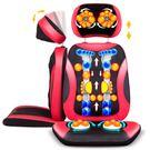 頸椎按摩器多功能全身推拿振動揉捏枕椅墊坐墊穴位家用肩頸部腰部 igo