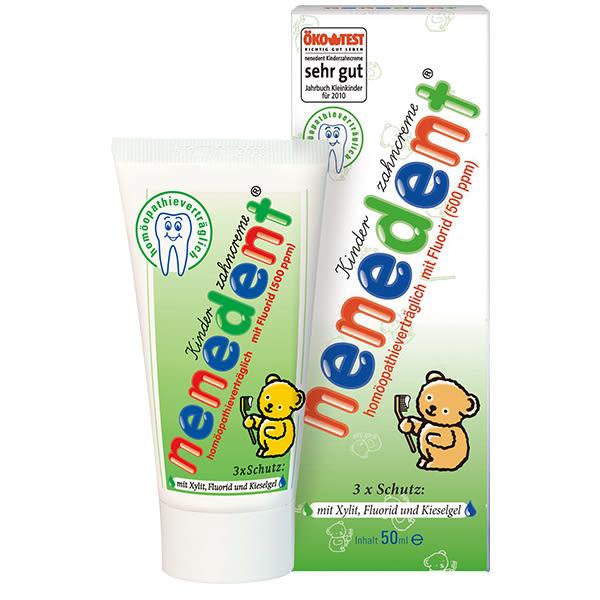 nenedent 木糖醇兒童牙膏(香蕉蘋果)