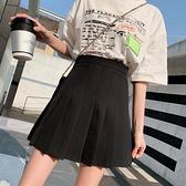 百褶裙 學院風學生百褶裙女裝2020春夏季新款防走光半身裙高腰a字短裙褲