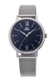 東方錶 ORIENT 經典米蘭帶手錶(RA-QC1701L) 藍/33.8mm