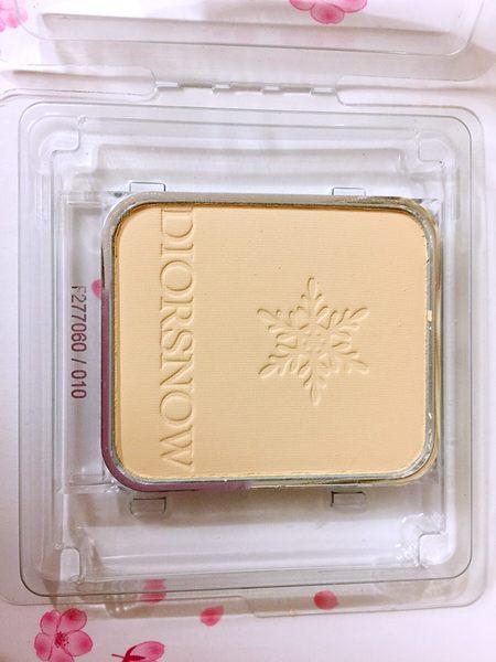 Dior 迪奧雪晶靈透亮UV粉餅蕊(只有蕊) 9g#020 SPF20 PA+++百貨公司專櫃正貨透明盒裝