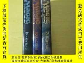 二手書博民逛書店THE罕見ART OF MAGIC:THE GATHERING INNISTRAD(三冊)精裝原版Y21459