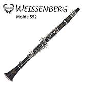 WEISSENBERG Molde552-合成木豎笛/17鍵/鍍鎳按鍵/附琴盒/原廠公司貨