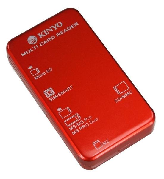 新竹※超人3C※ KINYO 耐嘉 多合一 晶片讀卡機 KCR-353 支援最高容量 sdxc 64GB 0090102