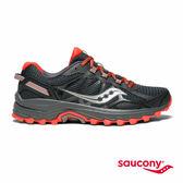SAUCONY EXCURSION TR11 戶外越野鞋款-深灰x橘紅