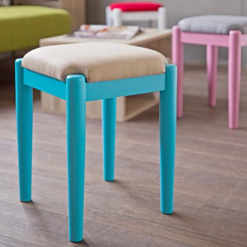 椅子 椅凳【收納屋】良柞亞麻方形沙發椅-果綠&DIY組合傢俱