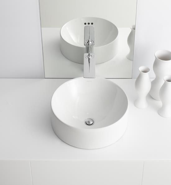 【麗室衛浴】美國 KOHLER活動促銷  CHALICE  圓形檯上盆  K-14800X-0  42*42*20.3CM