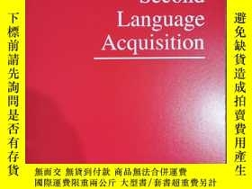 二手書博民逛書店studies罕見in second language acquisition 2019年9月 英文版Y424