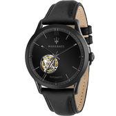 【Maserati 瑪莎拉蒂】/限量鏤空機械錶(男錶 女錶)/R8821133001/台灣總代理原廠公司貨兩年保固