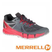 【MERRELL 美國 】AGILITY PEAK 男 多功能越野跑鞋『黑/紅』09645 機能鞋│休閒鞋│登山