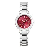 CITIZEN星辰 Eco-Drive 東京˙紅限量版腕錶 真鑽光動能電波鈦金屬腕錶 ES9440-51X 銀x紅