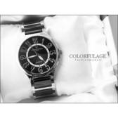 柒彩年代˙精密陶瓷獨特的切割面強化鏡片 范倫鐵諾Valentino手錶 公司貨【NE611】單支價格