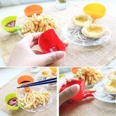盤子 盤 夾式 沾醬 碟沙拉 調味醬 蕃茄醬 糖醋醬 碗盤 夾式沾醬盤 小置物盤 【RS403】
