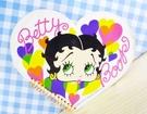 【震撼精品百貨】Betty Boop_貝蒂~便條本-愛心