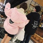 棉衣男冬裝情侶棉襖韓版潮流寬鬆情侶裝面包服羽絨棉服冬季外套