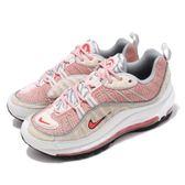 Nike Wmns Air Max 98 CNY 中國新年 毛料 拼接 白 粉紅 己亥 氣墊 女鞋 運動鞋【PUMP306】 BV6653-616