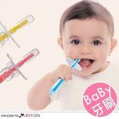 寶寶柔軟訓練矽膠牙刷 保健護齒牙刷