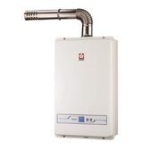 (含標準安裝)櫻花13公升強制排氣(與H1335同款)熱水器數位式H-1335