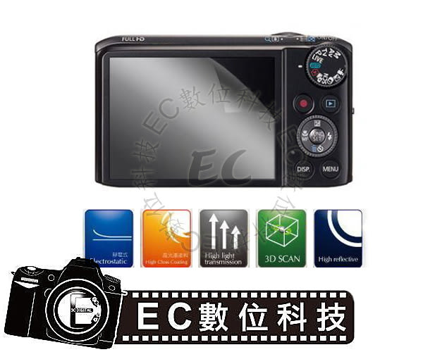 【EC數位】Kamera保護貼 Casio ZR3500 ZR2000專用 EX-10 TR50 TR60 TR15