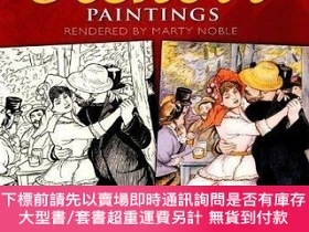 二手書博民逛書店Color罕見Your Own Renoir Paintings (dover Pictorial Archive