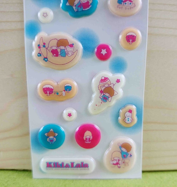 【震撼精品百貨】Little Twin Stars KiKi&LaLa 雙子星小天使~貼紙-耶誕