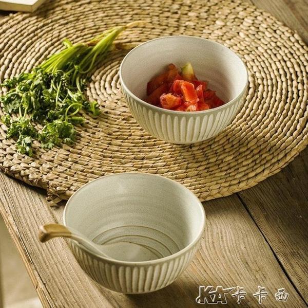 手工飯碗景德鎮羅馬家用面碗餐具陶瓷碗湯碗單個 【中秋鉅惠】