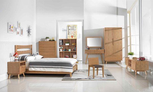 【森可家居】悠晴3尺衣櫥 7JX47-4 衣櫃 木紋質感 無印北歐風 鄉村