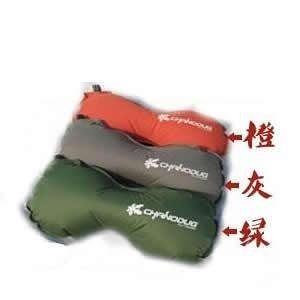新款 沙狐豆枕-TPU自動充氣枕頭 旅行睡枕