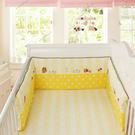 嬰兒拼接床上用品夏季款床圍擋布可拆洗寶寶純棉防撞透氣活膽床幃 小山好物