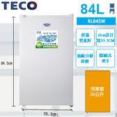 «免運費»TECO 東元 84L 直立式冷凍櫃 RL84SW 【南霸天電器百貨】