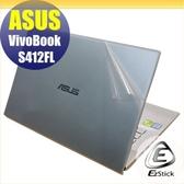【Ezstick】ASUS S412 S412FL 二代透氣機身保護貼(含上蓋貼、鍵盤週圍貼) DIY 包膜