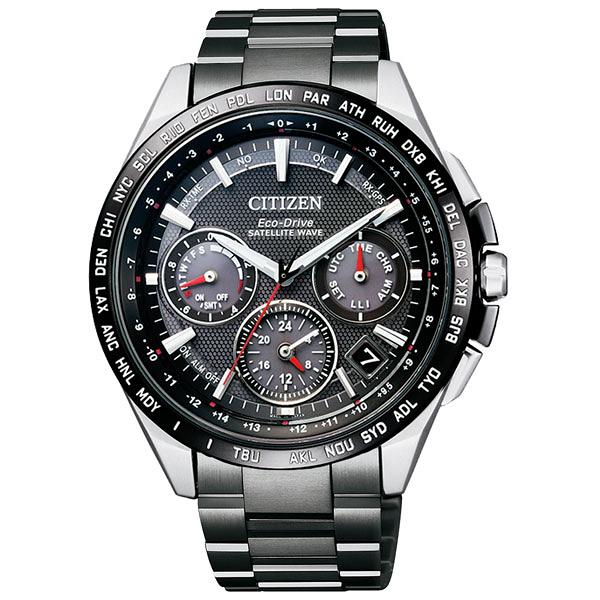 CITIZEN  宇宙航道衛星對時腕錶-CC9015-62E