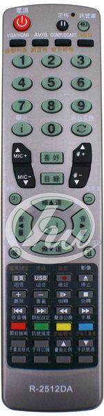 《鉦泰生活館》適用 HERAN聯碩卡拉OK多功能遙控器 R-2512DA