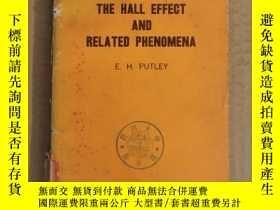 二手書博民逛書店the罕見hall effect and related phenomena(P3212)Y173412