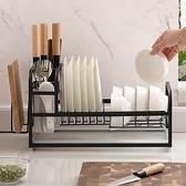 廚房置物架碗碟碗盤收納架晾洗放碗架瀝水架碗櫃碗筷放碗收納盒 「青木鋪子」