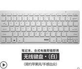 尾牙年貨節巧克力鍵盤有線臺式電腦筆記本USB外接家用辦公蘋果無線小鍵盤洛麗的雜貨鋪
