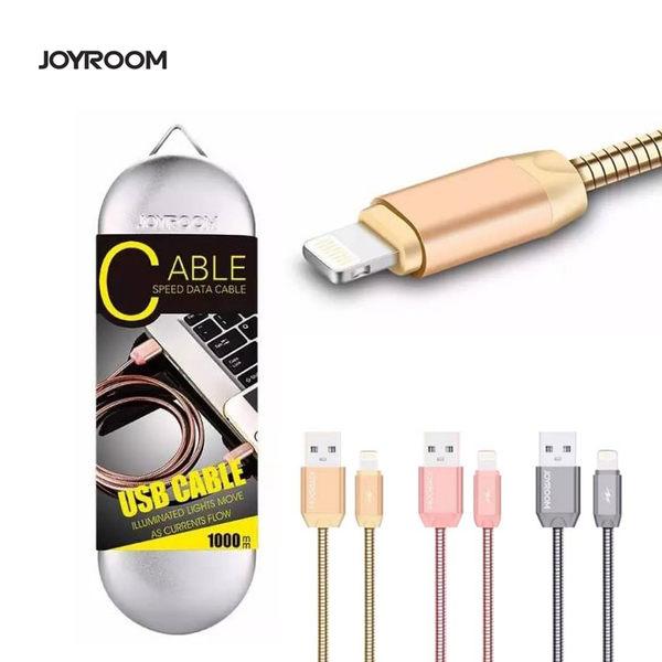 JOYROOM 機樂堂 鐵盒 USB CABLE Lightning 充電線 傳輸線 金屬 1M iPhone7 /iPHONE 5/iPhone6/6S [ WiNi ]