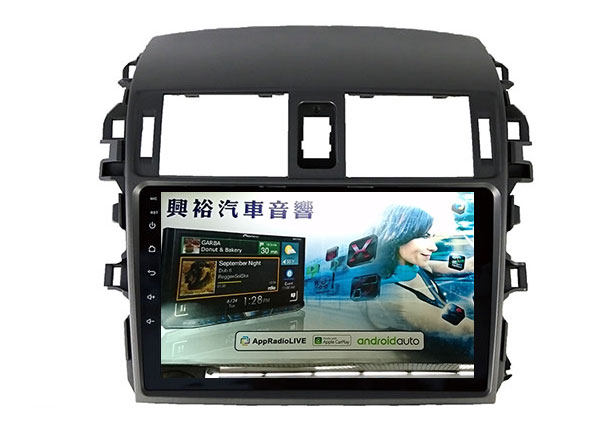 【專車專款】2008~2013年TOYOTA ALTIS專用9吋螢幕安卓多媒體主機*藍芽+導航+安卓四核心2+32促