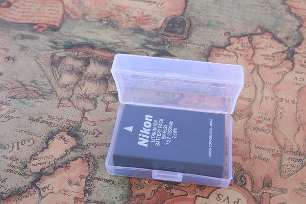 御彩數位@鋰電池收納盒 電池盒 可收納單眼相機鋰電池 LP-E6 ENEL3 SD CF TF記憶卡 大號 小號